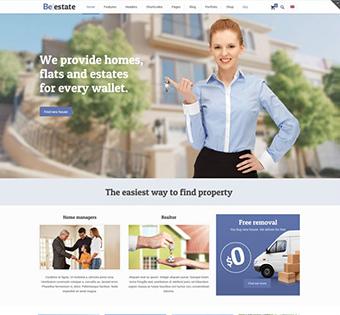 Сайт визитка для риэлтора и агенства недвижимости